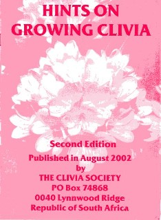 Copyright 2000 by Clivia Society. All rights reserved.  Reproduced by permission.